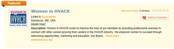 Women in HVAC-R