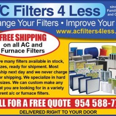 AC Filters 4 Less, Free Shipping. 954-588-7774