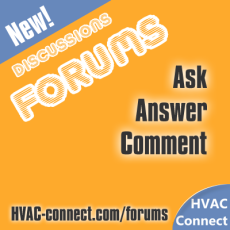 HVAC Discussion Forums